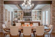 House Plan Design - European Interior - Dining Room Plan #430-154