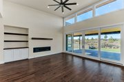 Contemporary Style House Plan - 4 Beds 4.5 Baths 4021 Sq/Ft Plan #892-30 Interior - Family Room