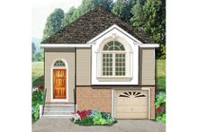 Dream House Plan - Traditional Exterior - Front Elevation Plan #3-270