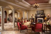 Mediterranean Style House Plan - 5 Beds 5.5 Baths 6045 Sq/Ft Plan #548-3 Interior - Family Room