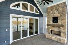 Dream House Plan - Craftsman Exterior - Outdoor Living Plan #437-114