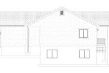House Plan Design - Traditional Exterior - Other Elevation Plan #1060-54