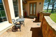 Mediterranean Exterior - Outdoor Living Plan #80-151