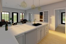 Dream House Plan - Farmhouse Interior - Kitchen Plan #126-236