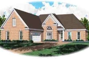 Traditional Exterior - Front Elevation Plan #81-517