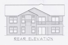 Dream House Plan - Craftsman Exterior - Other Elevation Plan #112-162