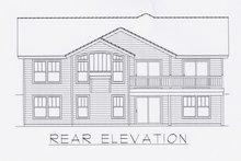 Architectural House Design - Craftsman Exterior - Other Elevation Plan #112-162