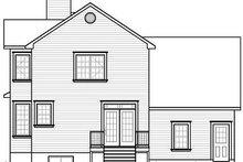 Farmhouse Exterior - Rear Elevation Plan #23-863