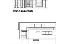 Modern Exterior - Other Elevation Plan #1066-67