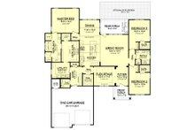 Craftsman Floor Plan - Main Floor Plan Plan #430-159