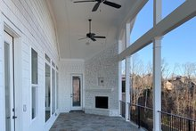 House Plan Design - Craftsman Exterior - Covered Porch Plan #437-96
