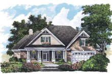 Country Exterior - Front Elevation Plan #929-714