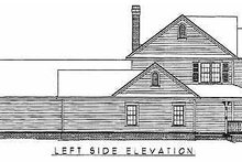 Home Plan - Country Exterior - Other Elevation Plan #11-121