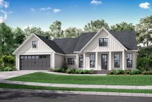 Architectural House Design - Farmhouse Exterior - Front Elevation Plan #430-221
