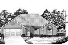 Home Plan - Traditional Exterior - Front Elevation Plan #62-102