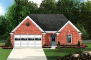Traditional Style House Plan - 3 Beds 2 Baths 1448 Sq/Ft Plan #424-164