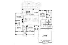 Country Floor Plan - Main Floor Plan Plan #929-8