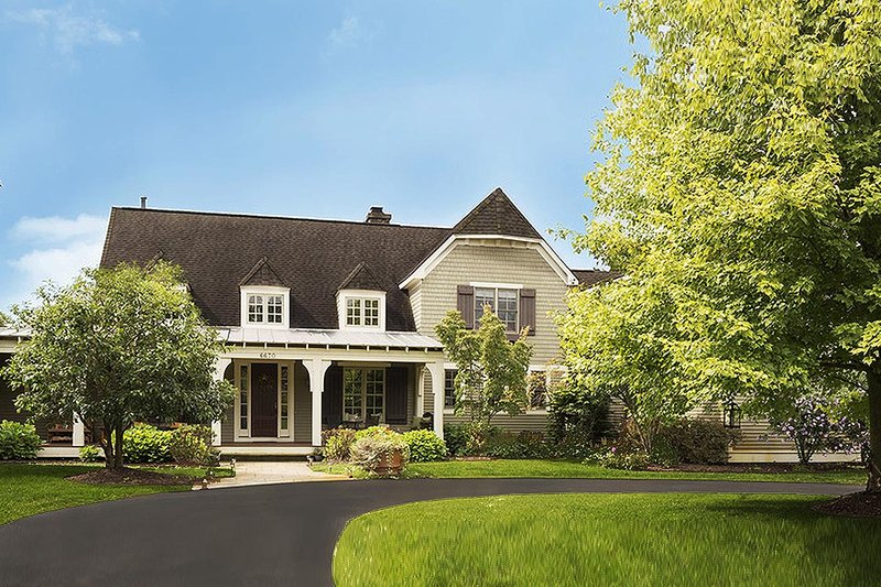 House Plan Design - Country Exterior - Front Elevation Plan #901-112