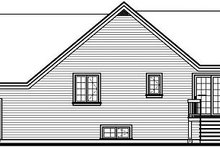 Country Exterior - Rear Elevation Plan #23-782