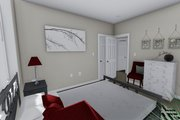 Ranch Style House Plan - 2 Beds 1 Baths 931 Sq/Ft Plan #1060-38 Interior - Master Bedroom