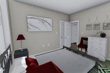Ranch Interior - Master Bedroom Plan #1060-38
