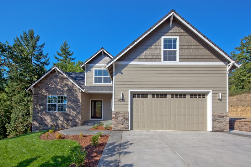 Home Plan - Traditional Exterior - Front Elevation Plan #124-921