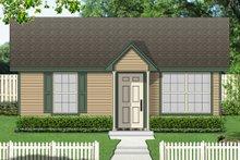 House Design - Cottage Exterior - Front Elevation Plan #84-533