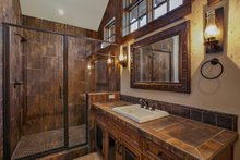 Home Plan - Craftsman style house design, Master bathroom photo