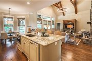 Craftsman Style House Plan - 4 Beds 3.5 Baths 2482 Sq/Ft Plan #120-184 Interior - Kitchen