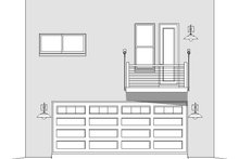 Contemporary Exterior - Front Elevation Plan #932-293