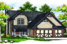 Dream House Plan - European Exterior - Front Elevation Plan #70-701