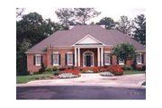 Colonial Style House Plan - 3 Beds 2.5 Baths 2697 Sq/Ft Plan #429-5 Exterior - Other Elevation