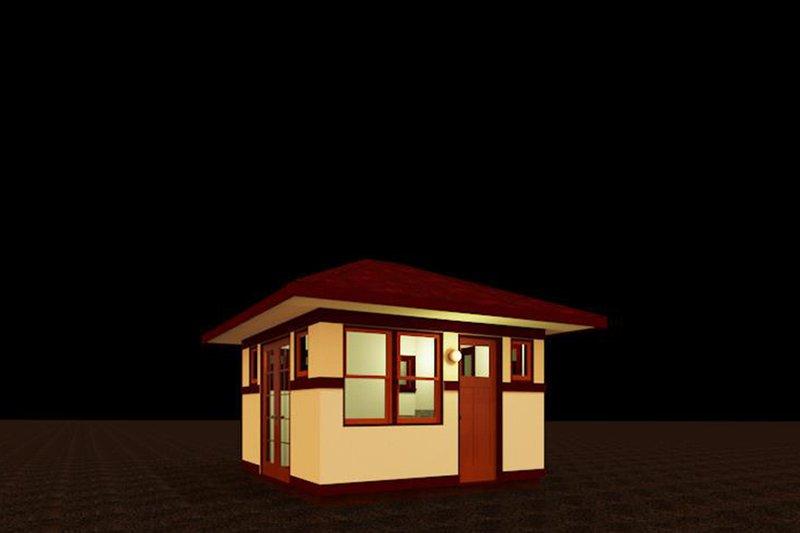 Prairie Style House Plan - 0 Beds 0.5 Baths 99 Sq/Ft Plan #917-16
