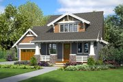 Farmhouse Style House Plan - 4 Beds 3.5 Baths 2337 Sq/Ft Plan #48-996 Exterior - Front Elevation