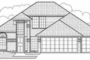 Traditional Style House Plan - 3 Beds 2 Baths 1977 Sq/Ft Plan #65-171 Exterior - Front Elevation