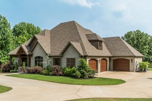 House Plan Design - Craftsman Exterior - Front Elevation Plan #17-3391