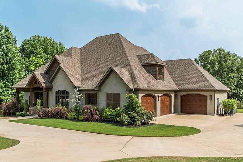 House Design - Craftsman Exterior - Front Elevation Plan #17-3391