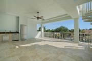 Mediterranean Style House Plan - 4 Beds 4.5 Baths 4513 Sq/Ft Plan #548-14 Exterior - Outdoor Living