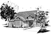 Cabin Style House Plan - 5 Beds 3.1 Baths 3060 Sq/Ft Plan #942-40 Exterior - Front Elevation