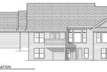Traditional Exterior - Rear Elevation Plan #70-805