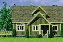 House Blueprint - Exterior - Other Elevation Plan #72-478