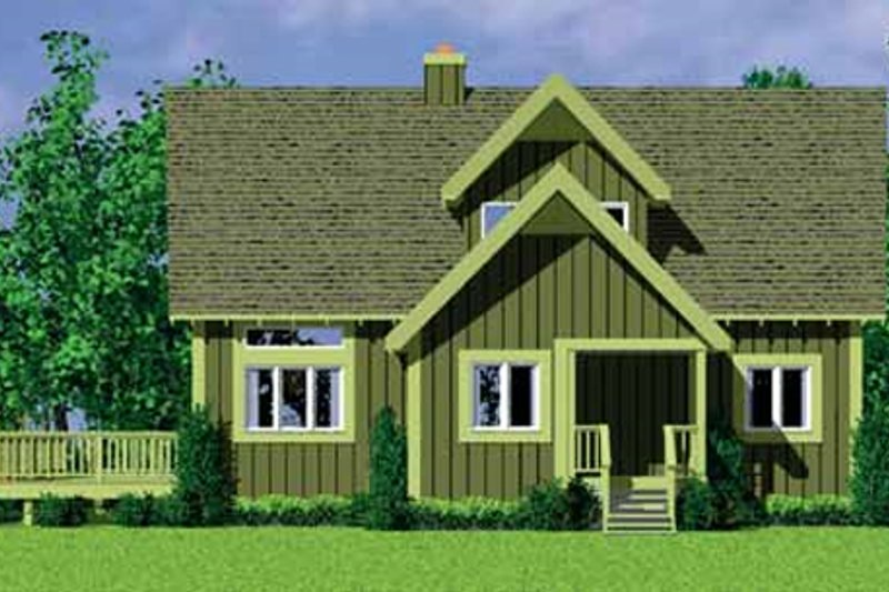 Exterior - Other Elevation Plan #72-478 - Houseplans.com