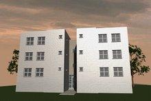 Dream House Plan - Modern Exterior - Rear Elevation Plan #535-4