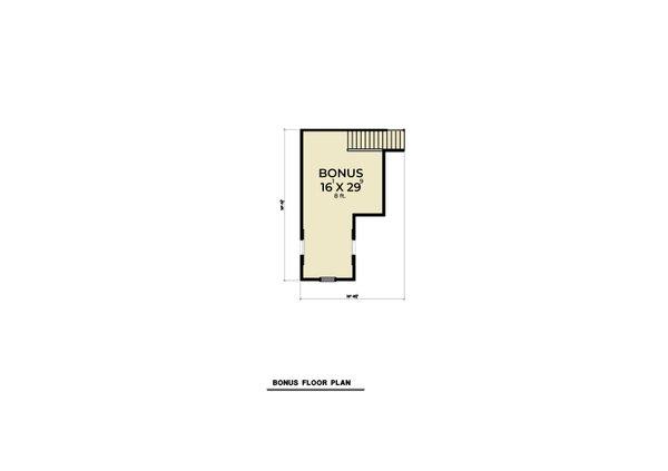 Dream House Plan - Farmhouse Floor Plan - Upper Floor Plan #1070-150
