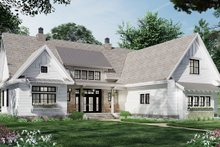 Architectural House Design - Farmhouse Exterior - Front Elevation Plan #51-1164