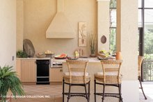 Mediterranean Exterior - Outdoor Living Plan #930-192