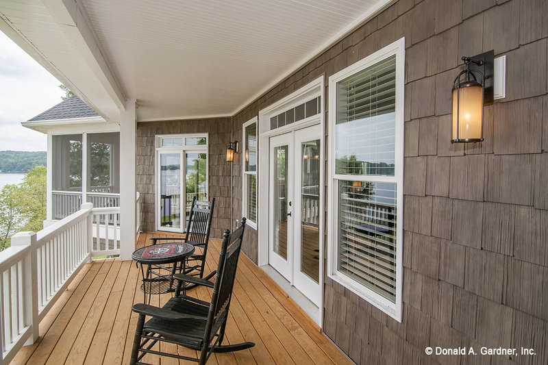 Craftsman Exterior - Outdoor Living Plan #929-26 - Houseplans.com