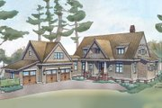 Farmhouse Style House Plan - 4 Beds 4.5 Baths 3292 Sq/Ft Plan #928-10 Exterior - Front Elevation