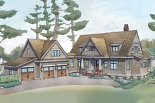 Farmhouse Exterior - Front Elevation Plan #928-10