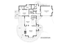 Contemporary Floor Plan - Main Floor Plan Plan #1042-21